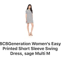 BCBG mini dress New with tags