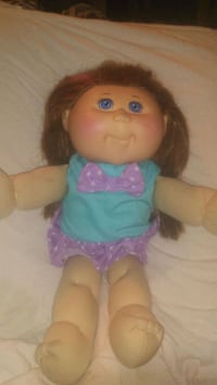 Origanal Signed Xavier Roberts Cabbage Patch Kids Doll