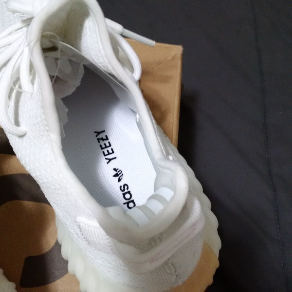 d7185e6857d57 Used Yeezy 350v2 cream white size 10 for sale in Abbotsford - letgo