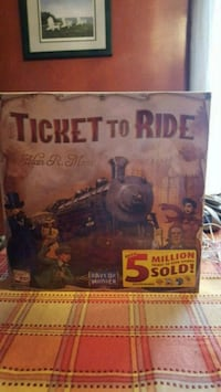 Ticket to Ride Youngstown, 44509