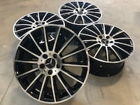"18"" M04 new wheels (MERCEDES CARS) Calgary, T3N 1A6"