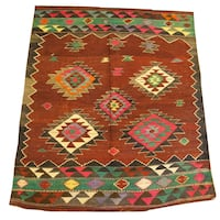 Vintage handmade carpet kilim Washington, 20005