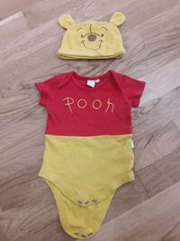 toddler's yellow and red onesie Greater London, N17 0JN
