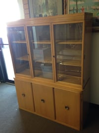 Mid Century China Cabinet / Display Hutch Northglenn, 80234