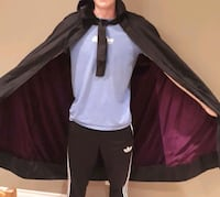 Black Cape Halloween Costume  Coquitlam, V3J