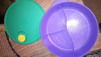 Tupperware 3 sections&lid