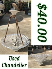 used chandelier  Hacienda Heights