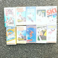 VHS learn how to ski (10 tapes) Washington, 20018