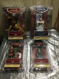 four Narnia assorted vinyl figure boxes Barrie, L4N 5G8