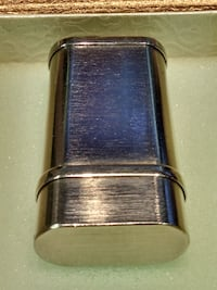 Lighter Cartier Silver Tone Unisex Palladium Flip Lighter RICHMONDHILL