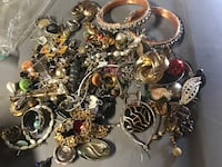 Bag of BROKEN JEWELRY GREAT FOR PROJECTS Kalamazoo, 49007