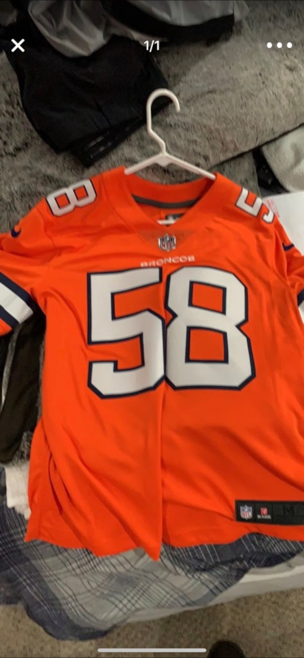 super popular a26e4 505cd Von Miller #58 - STITCHED Color Rush Jersey - Never Worn - $80 OBO