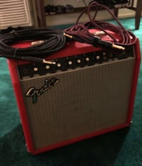 Black and red guitar amplifier Bell Gardens, 90201
