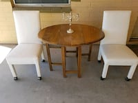 Vintage oak table and chairs Casa Grande, 85122