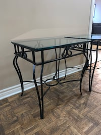 3 piece wrought iron coffee and 2 end table set Vaughan, L4L 1E6