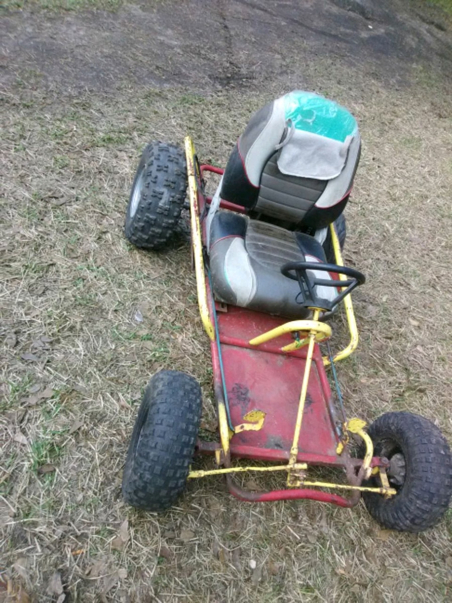 Photo 6.5 hp go cart... Trade for chainsaw ?