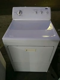 white front-load clothes dryer Los Angeles, 90017