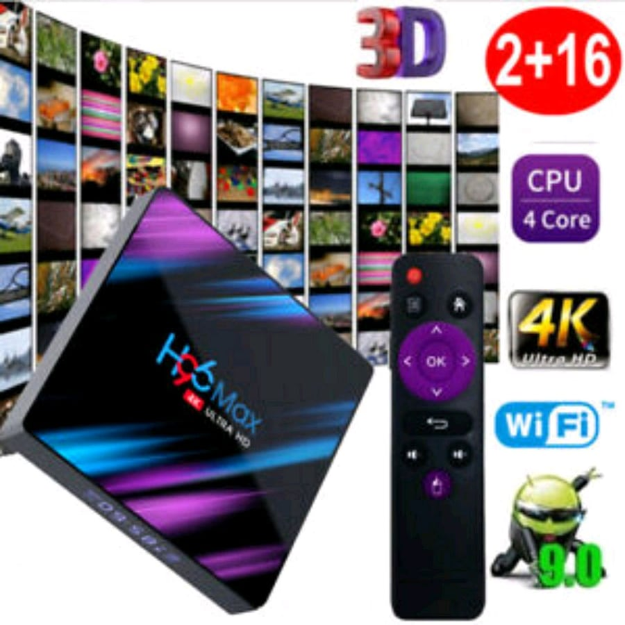 H96 Max Android TV Box Fully Loaded with Kodi And More