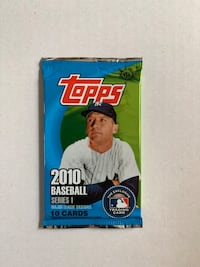 2010 Topps Unopened Pack/Brand New!!