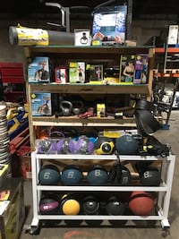 Various pieces of workout equipment. Please read the description for prices of each item. Charlotte, 28206