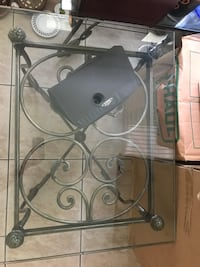 MUST GO!!! 2 GLASS TOP END TABLES Orlando, 32807