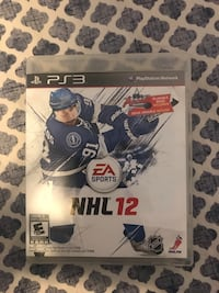 NHL 12 (PS3 Game) Brampton, L6P 4E1