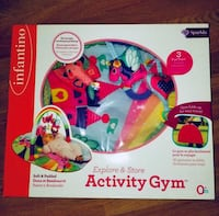 Brand new unicorn activity gym play mat