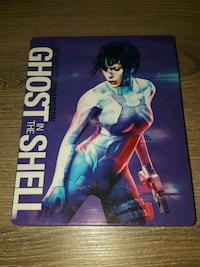 Ghost In the Shell (Ltd Ed Steelbook blu-ray/DVD Gaithersburg, 20879