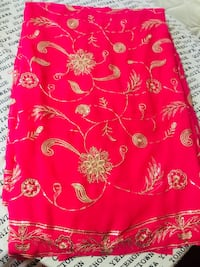 Pink Embroidery saree Mississauga, L4T 3A4
