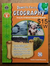 NEW Down to Earth Geography grade 5 Martinsburg, WV, USA