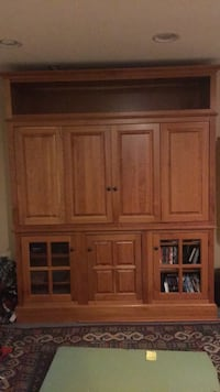 Brown wooden cabinet with drawer Arvada, 80005