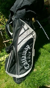 Golf bag with 15 clubs Surrey, V3R 1Y5