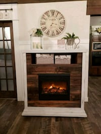 Farmhouse Barnwood Electric Fireplace Grand Junction, 81504
