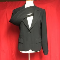 black and gray blazer and skirt Clifton, 07013