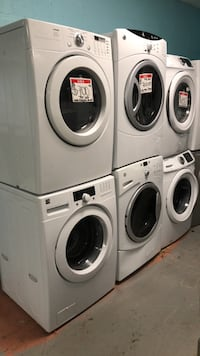 Set front load washer and dryer 90 days warranty Reisterstown, 21136