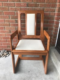 Solid Wood Chair Mississauga