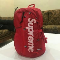 Supreme Ss17 Backpack Red Reston, 20190