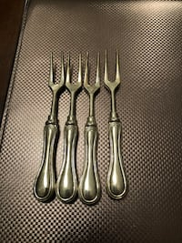 Silver plated serving forks  Richmond Hill, L4C 0J9