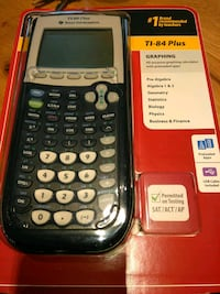 black Texas Instruments TI-84 Plus Washington
