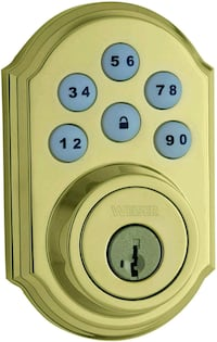 Weiser SmartCode 5 Electronic Deadbolt Featuring SmartKey (NEW) London, N6B 3L6