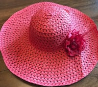 pink and white knitted cap Salem, 97302