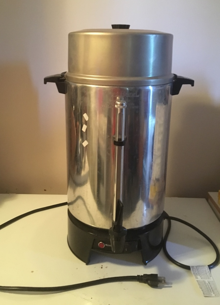 how to make coffee in 100 cup urn