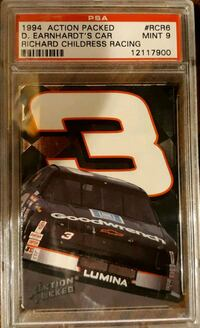 Dale Earnhardt GRADED card Gerrardstown, 25420
