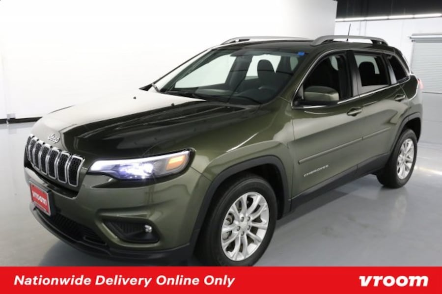 2019 Jeep Cherokee Olive Green Pearlcoat hatchback c8785032-4b9f-4d90-aac3-19b4c0ced65e