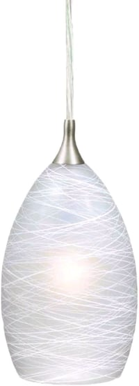 Vaxcel PD57111SN Milano Mini Pendant, Satin Nickel Brooklyn, 11229
