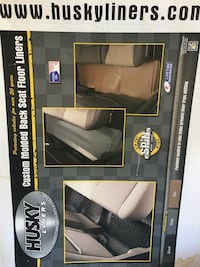 Husky Liners CUstom Molded Back Seat Floor Liners box Dallas, 30157