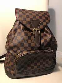 brown and black Louis Vuitton backpack Miami, 33196