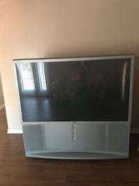 gray and black rear projection television SANDIEGO