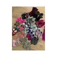 Assorted toddler girl shoes from sizes 3 to 6 $10.00 each Mississauga, L5A 3L1