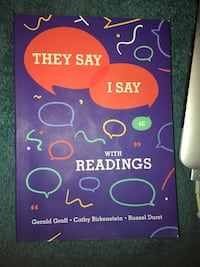 They Say, I Say with Readings. 4th edition  Los Angeles, 91325